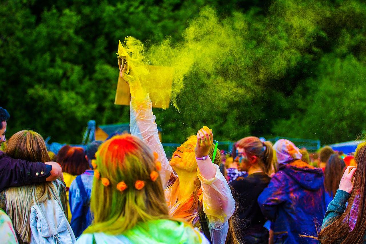 Holi Festival colours