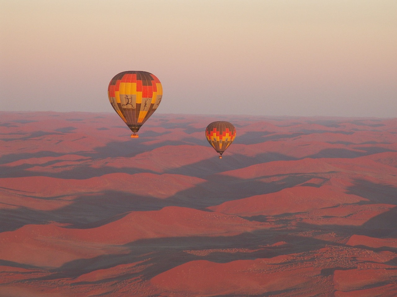 Hot Air Balloon in Namibia