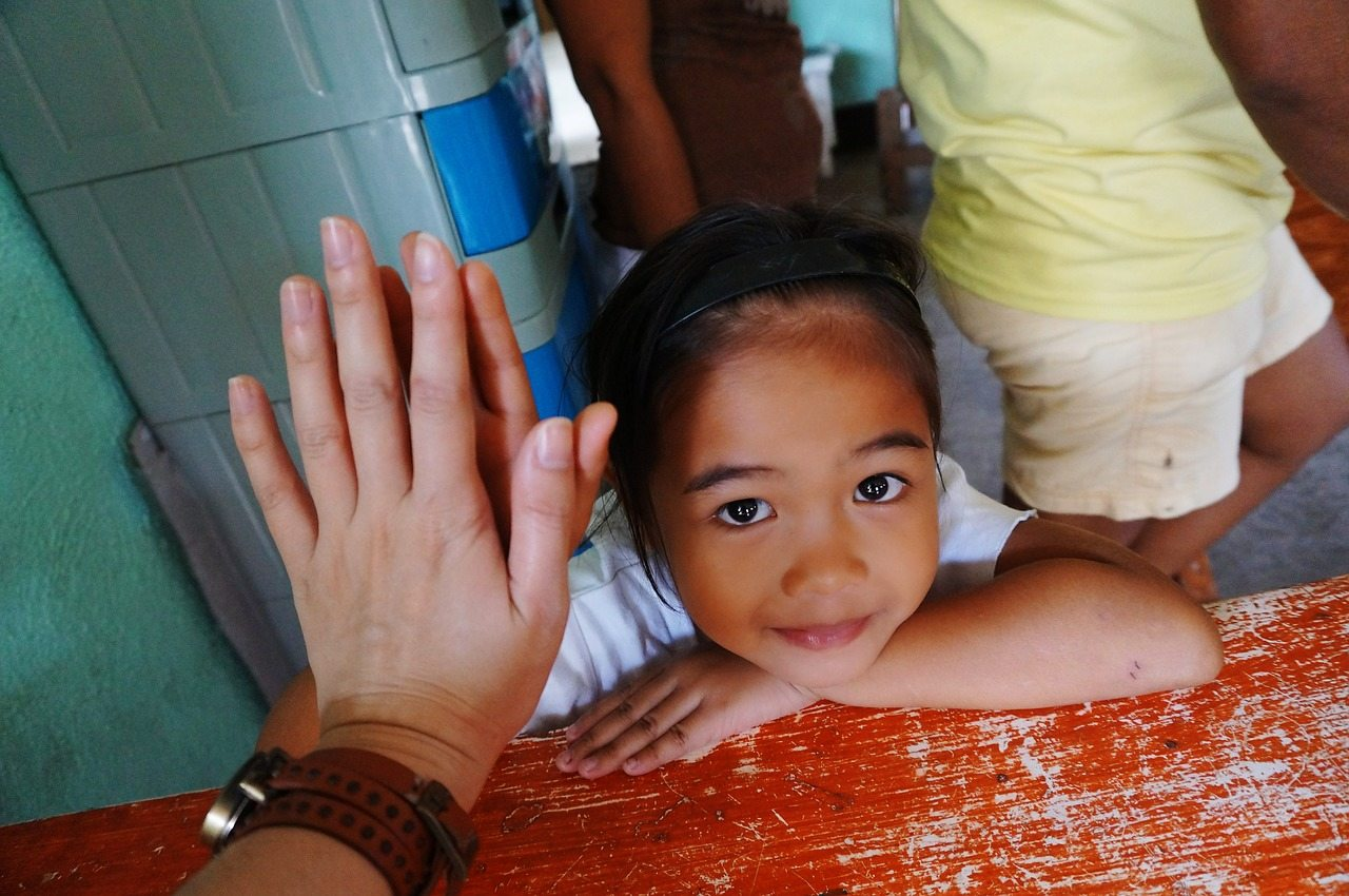 girl in the philippines