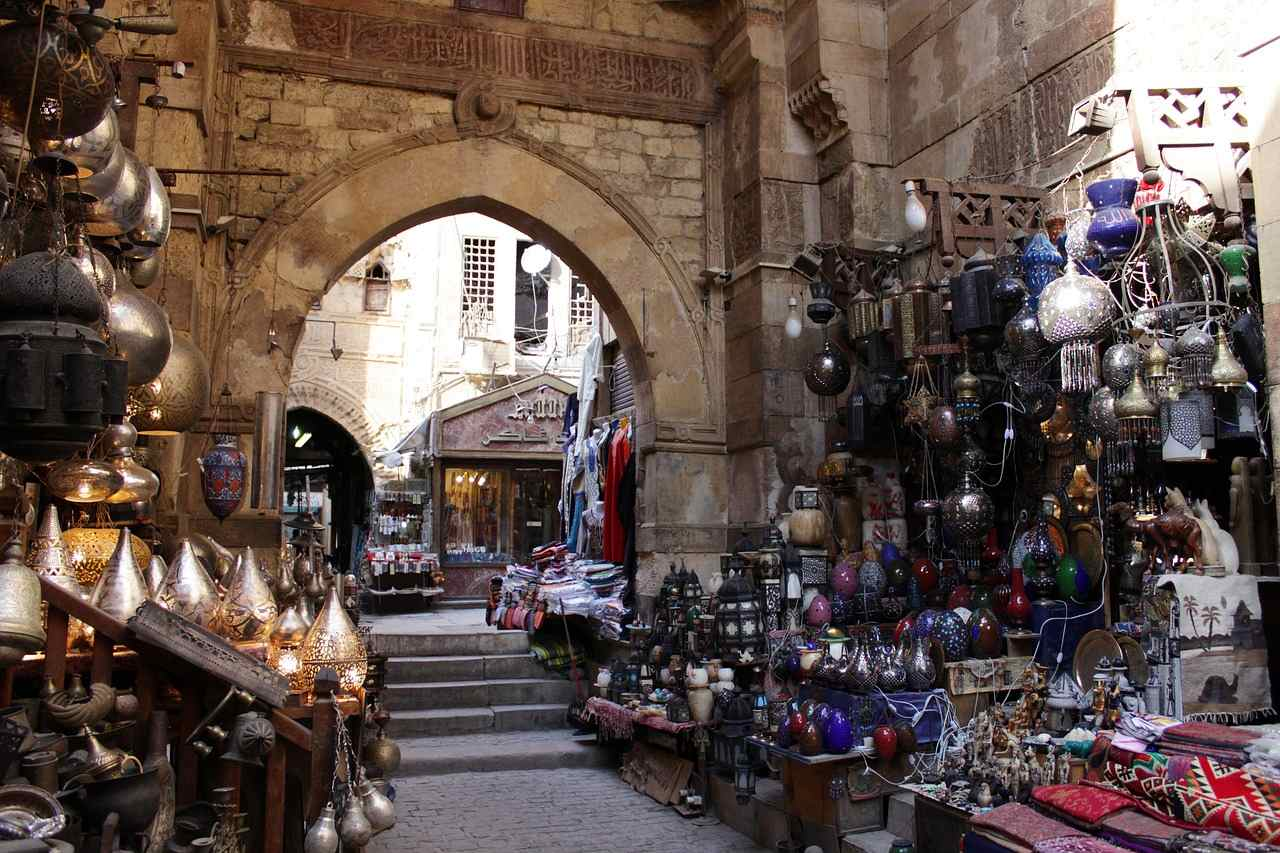 Market in Egypt