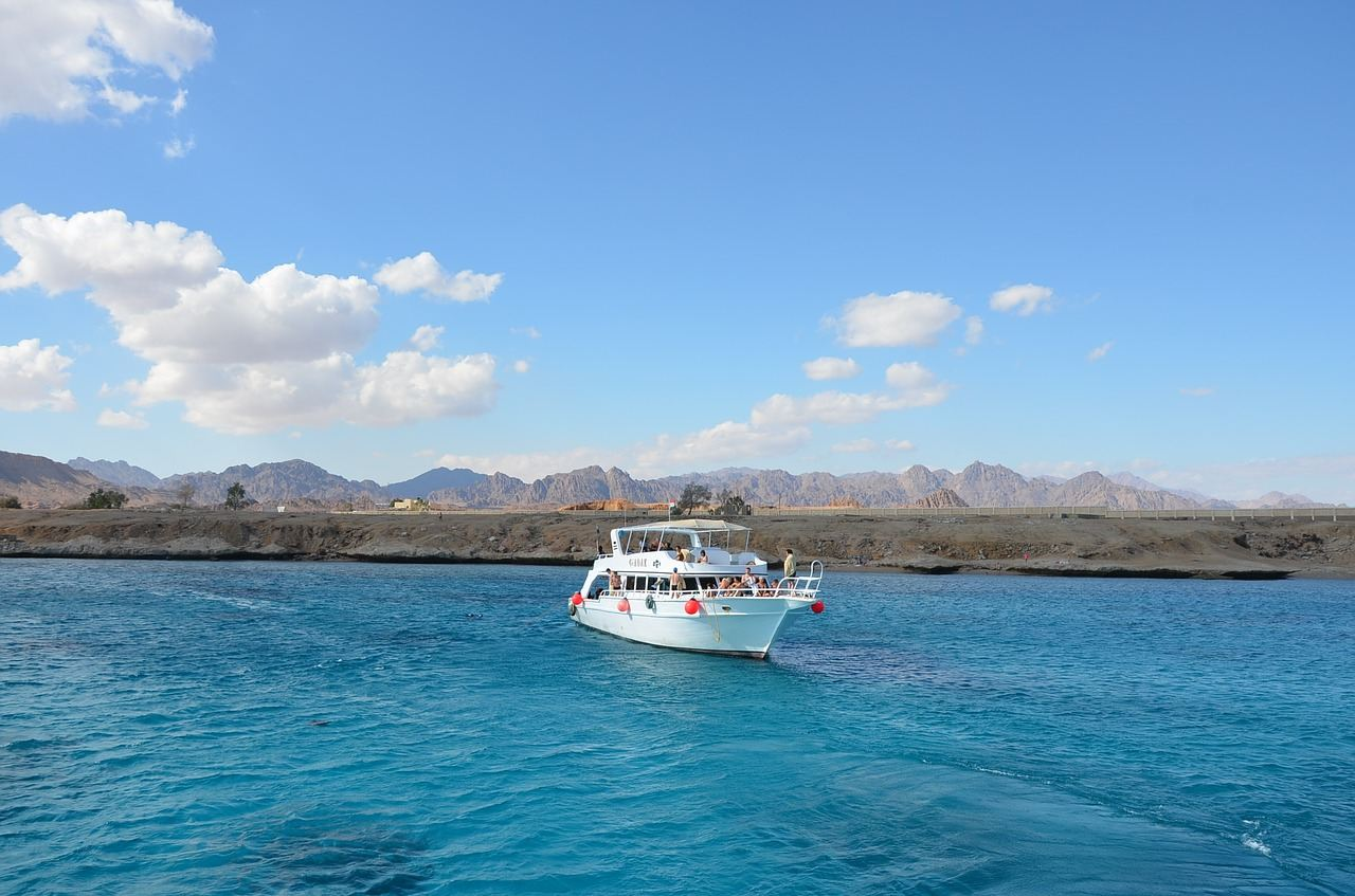 Red Sea boat