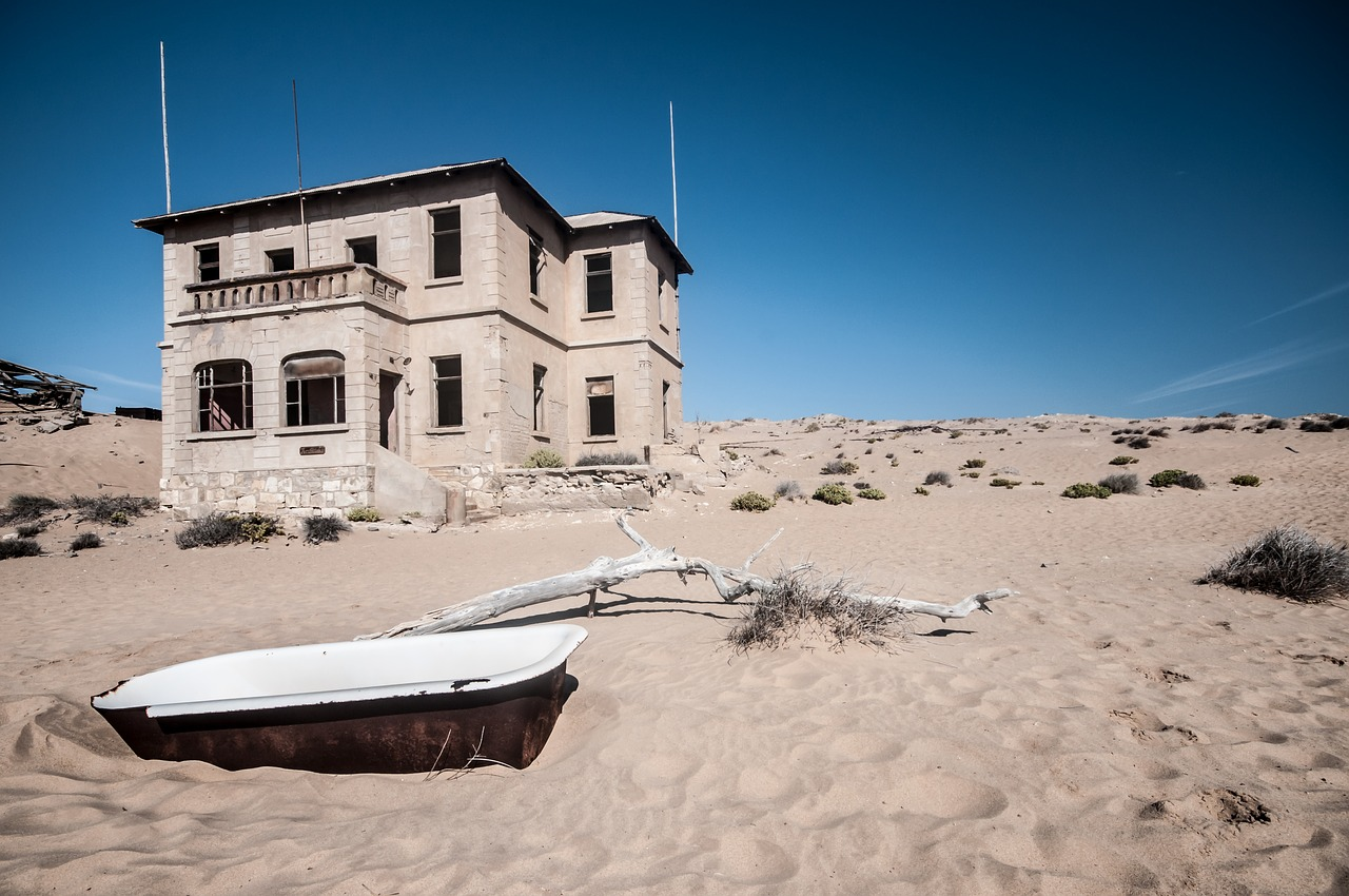 Namibian ghost town
